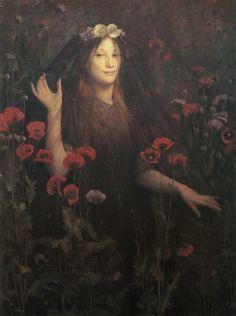 "Thomas Cooper Gotch (British, 1854-1931), ""Death the Bride"""
