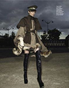la sentinelle: tosca dekker by paul empson for grazia france 12th october 2012