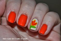 Bird of Paradise Twin Nails  #LLgarden