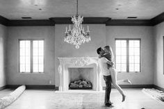 First kiss in new home pic