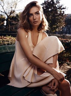 "anothereverythingandnothing: ""Photographer Benny Horne  Supermodel(s) Andreea Diaconu on March 18th, 2017 