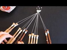 Bobbin Lacemaking, Bobbin Lace Patterns, Lace Heart, Lace Jewelry, Lace Making, Lace Detail, Knitting, How To Make, Youtube