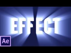 Shine Through Text Effect Tutorial | After Effects CS6 - YouTube