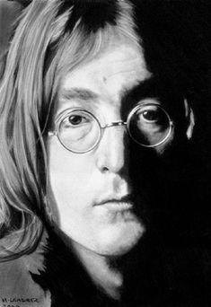 Lennon <3 Incredible Pencil Art by Matthew Leader.