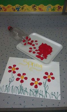 Spring Crafts for Kids / Preschoolers & Toddlers to make this season of new beginnings - . Spring Crafts for Kids / Preschoolers & Toddlers to make this season of new beginnings - Diy Spring Crafts For Kids, Diy For Kids, Spring Craft Preschool, Spring Crafts For Preschoolers, Arts And Crafts For Kids Toddlers, At Home Crafts For Kids, Flower Craft Preschool, Crafts For Babies, Simple Kids Crafts