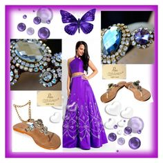 """""""Jewelry Shoes Pasha"""" by alma-ja ❤ liked on Polyvore featuring Rachel Allan and Valentino"""