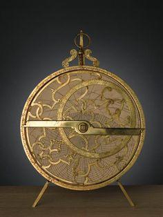 Astrolabe planisphère  Asne Michel (2e moitié 16e siècle-début 17e…