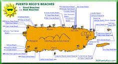 map of puerto rico beaches | Close Window
