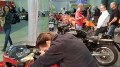 Moto Officina stand