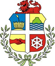 Coat of arms of Aruba: A constituent country of the Kingdom of the Netherlands