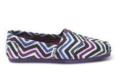 Chevron Women's Vegan Classics | TOMS.com #fashion #shoes #chevron