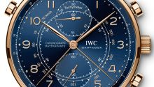 The new IWC Portugieser Chronograph Classic watch with images, price, background, specs, & our expert analysis.