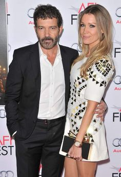 Antonio Banderas (56 ans) et Nicole Kimpel (36 ans).