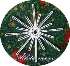 Horgolt#csillag#dísz#karácsony#ünnep Hand Fan, Home Appliances, House Appliances, Appliances