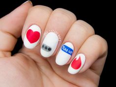 Modern Romance Nail Art