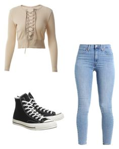 """Untitled #164"" by taukaila on Polyvore featuring Converse"