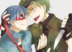 happy tree friends anime splendid and flippy - Google Search