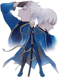 Anime guys · crying · videogames · devil may cry, vergil dmc, resident evil, dmc bayonetta, angels Chibi, Davil May Cry, Character Design, Character Art, Game Art, Dark Souls, Video Game Art, Anime Guys, Art