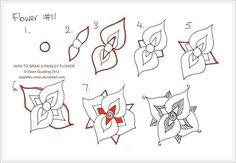 Онлайн-школа: Как рисовать узоры. Для тех, кто увлекается точечной росписью или мехенди - Интернет-магазин товаров для рукоделия и сувениров ручной работы Полосатая клумба, Челябинск