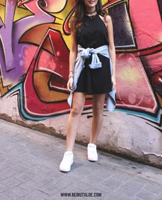 Styling your little Black dress Casually