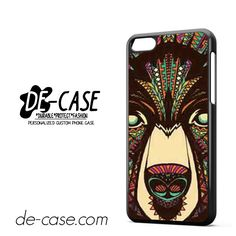 Bear Aztec For Iphone 5C Case Phone Case Gift Present YO