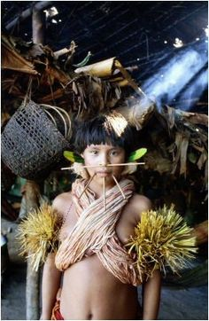 The yanomami tribe of the amazon by Antonio Mari