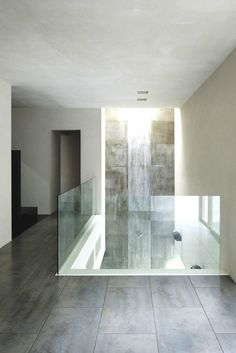 Luxurious Marble Interior Design With Minimalist Charming Modern Glass Fence Ideas Photo Pictures
