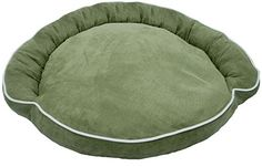 Iconic Pet Luxury Bolster Pet Bed XSmall Moss *** To view further for this item, visit the image link.(This is an Amazon affiliate link and I receive a commission for the sales)