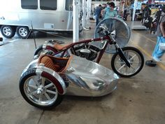 Jesse James and Sandra Bullock's Airstream Sidecar - ADVrider