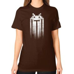Space Punisher Unisex T-Shirt (on woman)