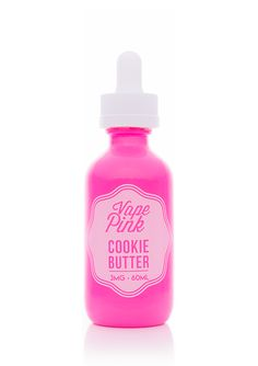 Cookie Butter - Vape Pink E Liquid #vape #vaping #eliquid