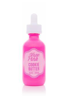 Cookie Butter - Vape Pink E Liquid #vape #vaping #eliquid