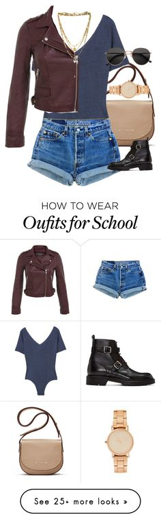 """Untitled #6944"" by ashley-r0se-xo on Polyvore featuring Elizabeth and James, MANGO, Miss Selfridge, Yves Saint Laurent, Vanessa Mooney and H&M"