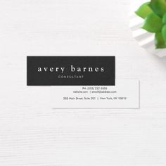 Bakery pastry chef rolling pin baker logo business card bc simple black creative professional modern mini business card colourmoves