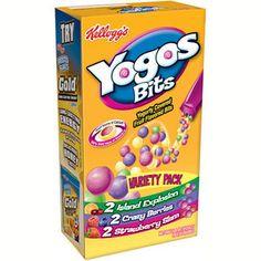 kellogg's+yogo+bites | Kellogg's: Yogos Bits Variety Pack Fruit Flavored Snacks, 4.80 oz