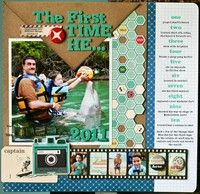 A Project by NancyDamiano from our Scrapbooking Gallery originally submitted 01/09/12 at 09:19 AM