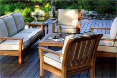 Teak Outdoor Seating | Teak Patio Chairs | Heat'n Sweep
