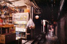 A street in Kowloon walled city Hong Kong