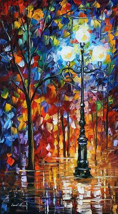 Colorful nightlights