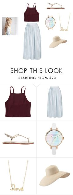 """summer walk"" by norishaa on Polyvore featuring Aéropostale, Topshop, Sydney Evan and Eric Javits"