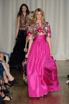Marchesa spring/summer 15 show pictures | London Fashion Week | Harper's Bazaar