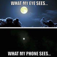Haha, yup. Happy full moon everyone and Good night! XOXOXO ❤️✨ #bluemoon #fullmoon