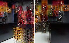 Diseño interior de vinotecas