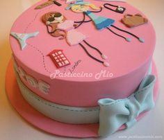 Travel Themed Birthday Cake - Cake by Pasticcino Mio