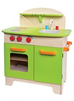 For your little Top Chef wannabe: Eco-Friendly Gourmet Chef Kitchen, $130