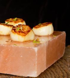 Salt Crust Scallops with Thai Lime Dipping Sauce | The Meadow
