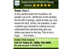 A very positive place full of positive, fun people! I go to Dr. Jeff Brown at this...