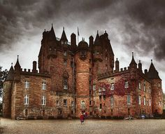 Glamis Castle-- King Malcolm II was killed there in 1034.
