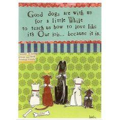 Card - Good Dogs