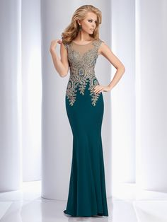 Clarisse 4507 Forest Green at Rsvp Prom and Pageant, your source for 2016 Prom and Pageant Dresses! Sizes 0 - 24 Color: Forest Green